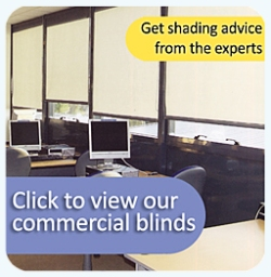 Commercial blinds by Saxon Blinds Northampton