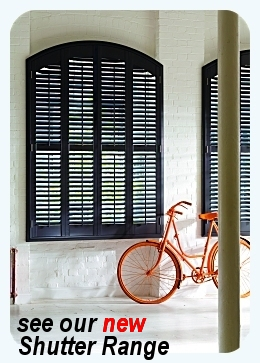 new shutters range from Saxon Blinds Northampton