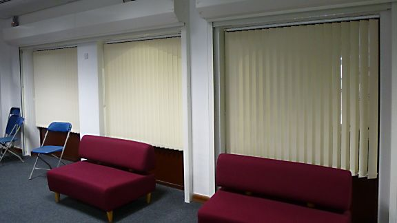 Commercial Vertical Blinds For Extra Large Windows Saxon