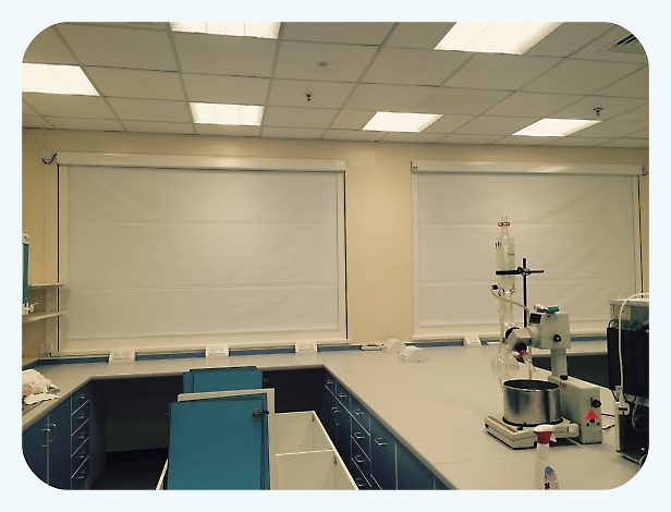 Commercial Laboratory Blackout Blind