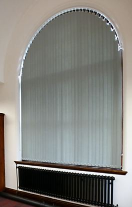 Tall Arched Window Blind