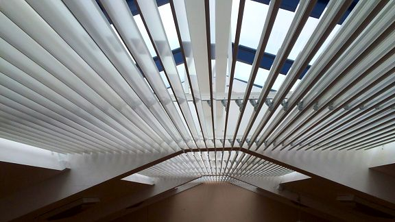 Our Commercial Roof Blinds Are Available In Many Styles
